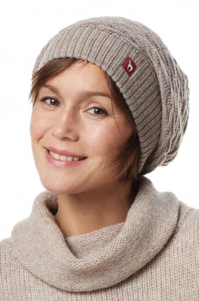 Alpaka Basken Mütze BIESEN aus 100% Baby Alpaka