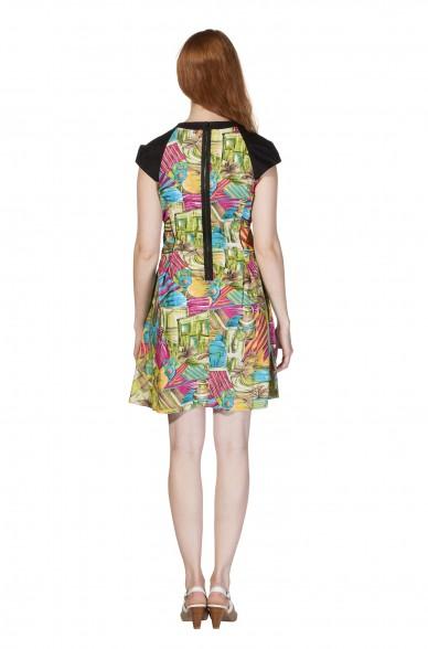 Frühjahrs-Kleid KAREN Pima Baumwolle_11618