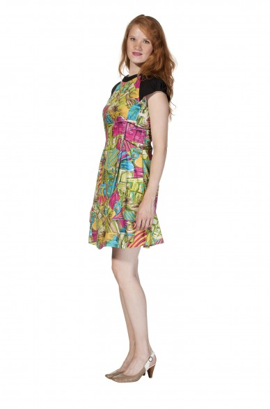 Frühjahrs-Kleid KAREN Pima Baumwolle_11619