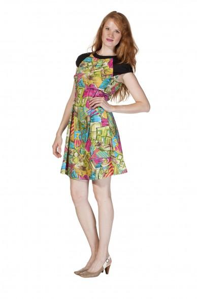Frühjahrs-Kleid KAREN Pima Baumwolle_11620