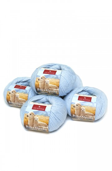 Alpaka Wolle REGULAR | 50g | 5er Pack | 100% Baby Alpaka | 32+ Farben_31230