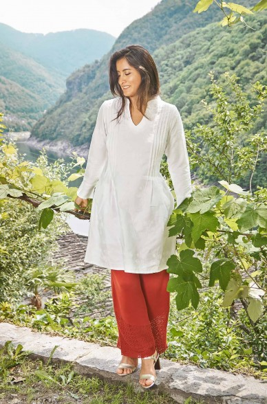 Kleid FABIANA aus 100% Bio Pima Baumwolle_33063