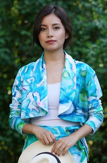 Bolero AARON aus Bio Baumwolle für Damen_37023