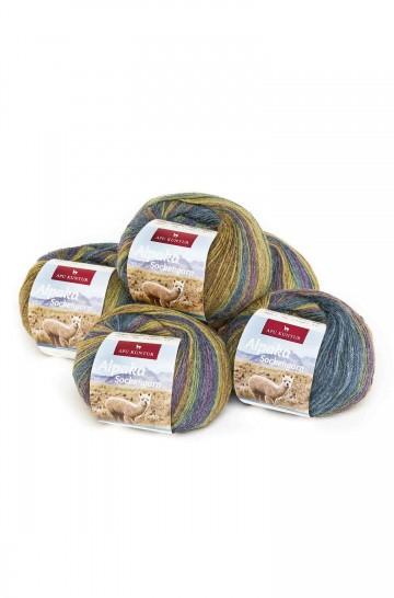 Alpaka Wolle SOCKENGARN | 50g | 50% Wolle (Superwash)_40855