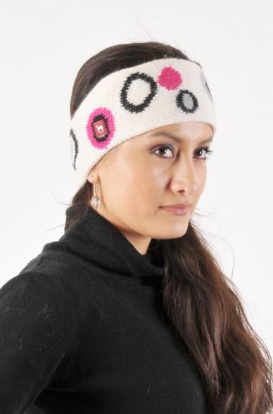Alpaka Stirnband CIRCULOS aus 100% Baby Alpaka_4209
