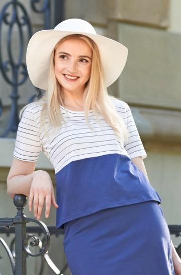 T-Shirt LINEAS KURZARM aus Bio Pima-Baumwolle für Damen_42319